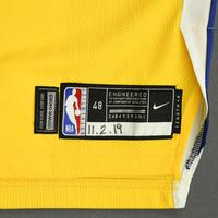 Damion Lee - Golden State Warriors - Game-Worn Statement Edition Jersey - 2019-20 NBA Season