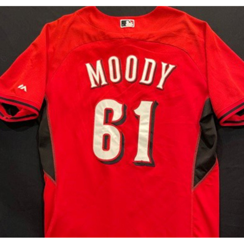 Photo of MOODY -- Authentic Reds Jersey -- $1 Jersey Auction -- $5 Shipping -- Size 46 (Not MLB Authenticated)