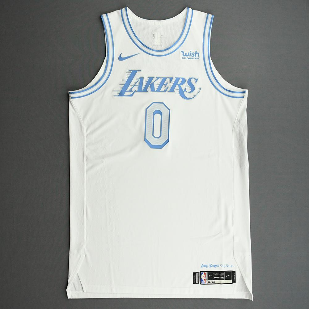 Kyle Kuzma - Los Angeles Lakers - Christmas Day' 20 - Game-Worn City Edition Jersey