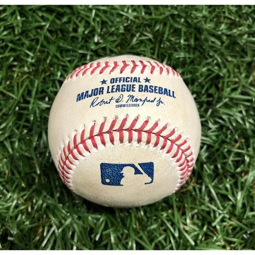 Photo of Rays Baseball Foundation: Game Used Home Run Baseball - Danny Jansen - ALWCS Game 2 - September 30, 2020 v TOR