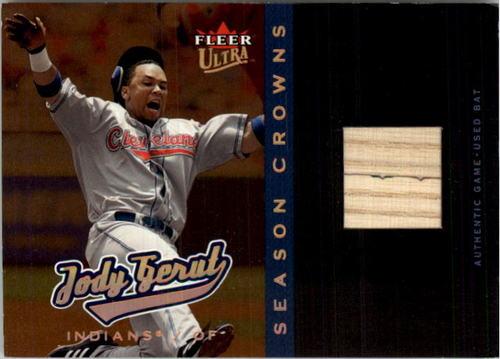 Photo of 2005 Ultra Season Crowns Game Used Copper #144 Jody Gerut Bat