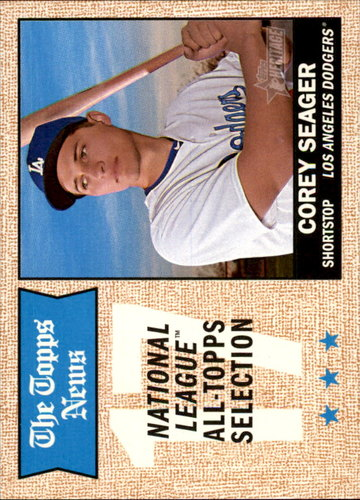 Photo of 2017 Topps Heritage #367 Corey Seager