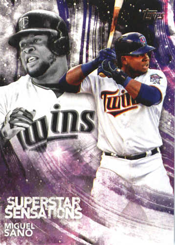Photo of 2018 Topps Superstar Sensations #SSS13 Miguel Sano
