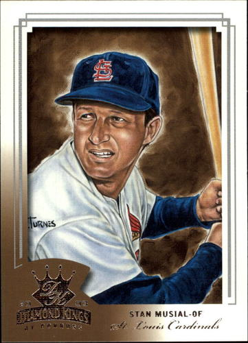 Photo of 2003 Diamond Kings #163 Stan Musial -- Hall of Fame Class of 1969