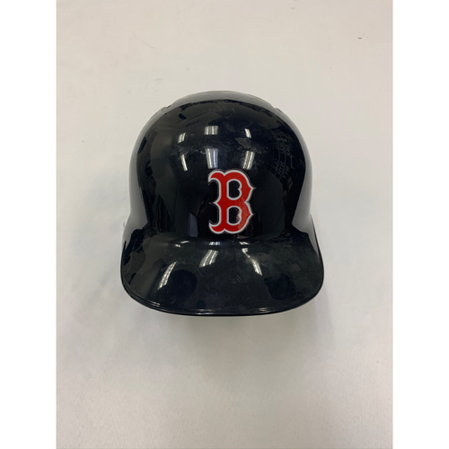 Photo of Blake Swihart October 1, 2017 Game Used Batting Helmet