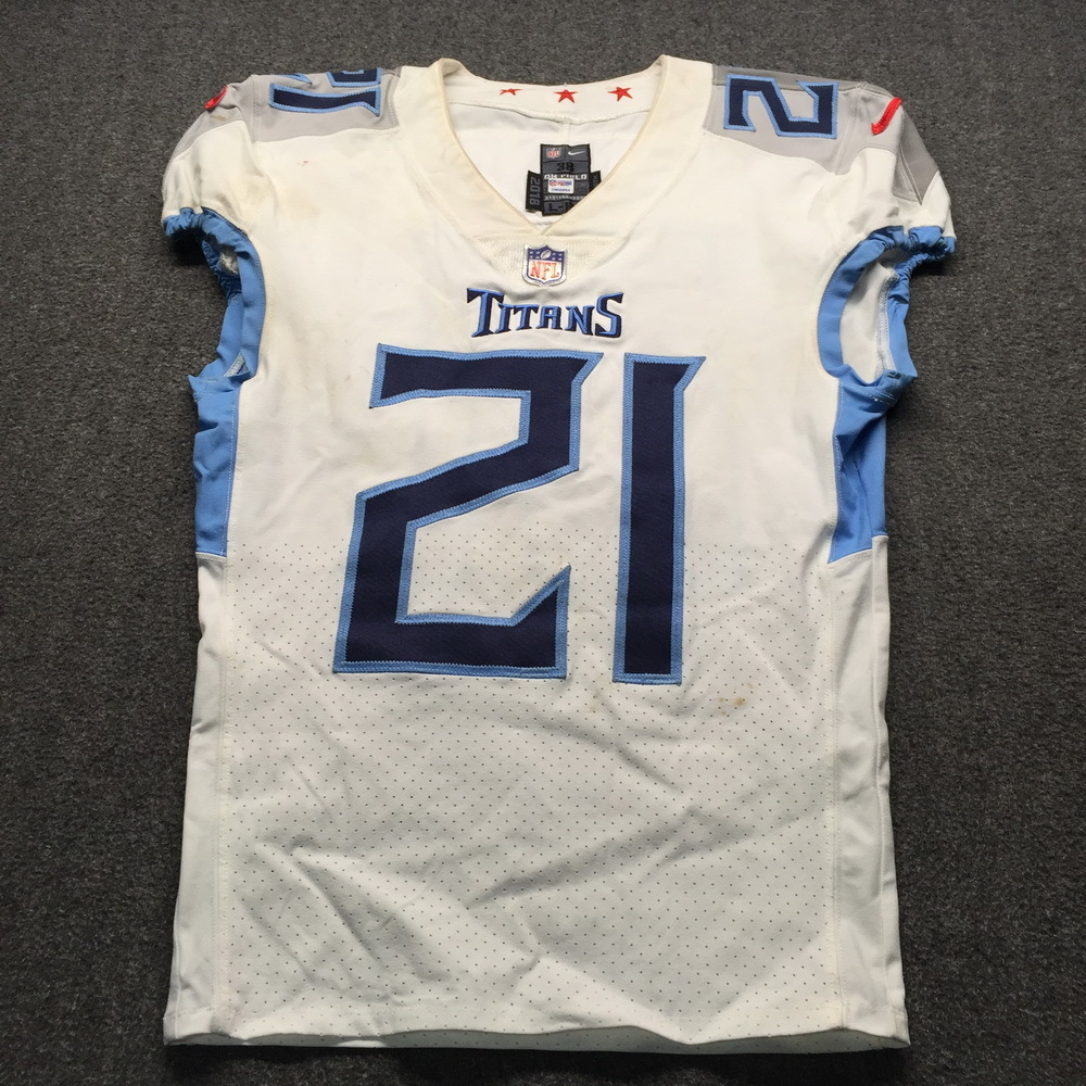 NFL Auction   London Games - Titans Malcolm Butler Game Used ...