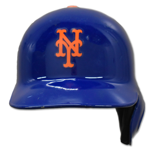 Photo of Rajai Davis #18 - Game-Used Batting Helmet - Mets vs. Marlins - 9/23/19