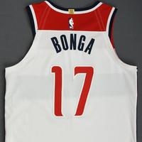 Isaac Bonga - Washington Wizards - Kia NBA Tip-Off 2019 - Game-Worn Association Edition Jersey - Wizards' Debut