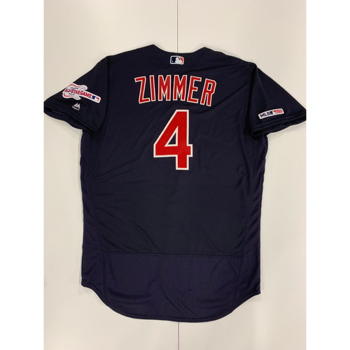 Photo of Bradley Zimmer 2019 Team Issued Alternate Road Jersey