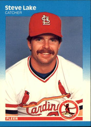Photo of 1987 Fleer #300 Steve Lake