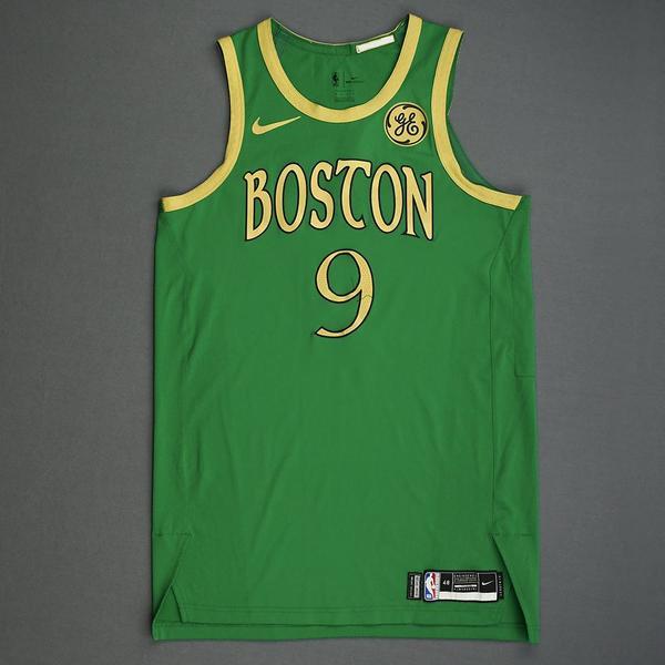 Image of Brad Wanamaker - Boston Celtics - Christmas Day' 19 - Game-Worn City Edition Jersey