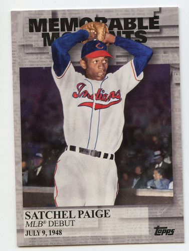 Photo of 2017 Topps Memorable Moments #MM36 Satchel Paige