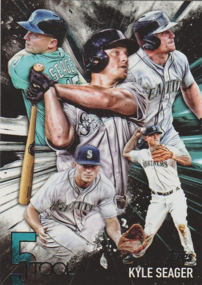 2017 Topps Five Tool #5T40 Kyle Seager
