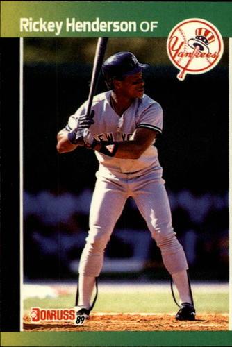 Photo of 1989 Donruss #245 Rickey Henderson