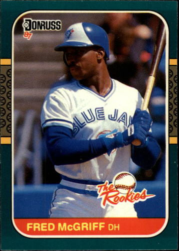 Photo of 1987 Donruss Rookies #31 Fred McGriff