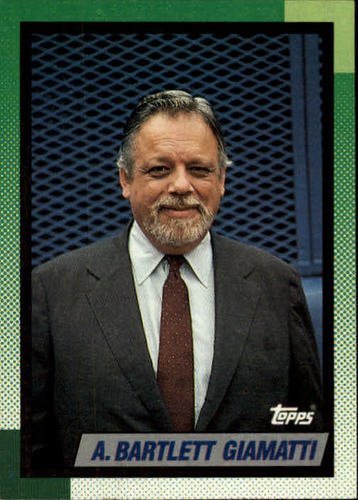 Photo of 1990 Topps #396 Bart Giamatti MEM