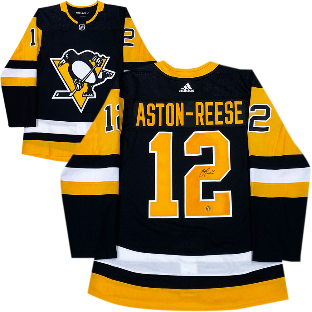 Zach Aston-Reese Autographed Pittsburgh Penguins adidas Pro Jersey