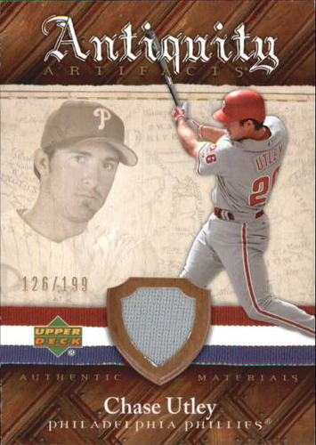 Photo of 2007 Artifacts Antiquity Artifacts #CU Chase Utley