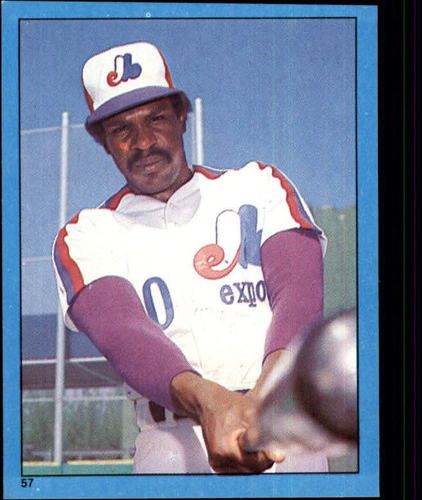 Photo of 1982 Topps Stickers #57 Andre Dawson