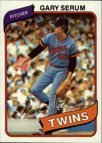 Photo of 1980 Topps #61 Gary Serum