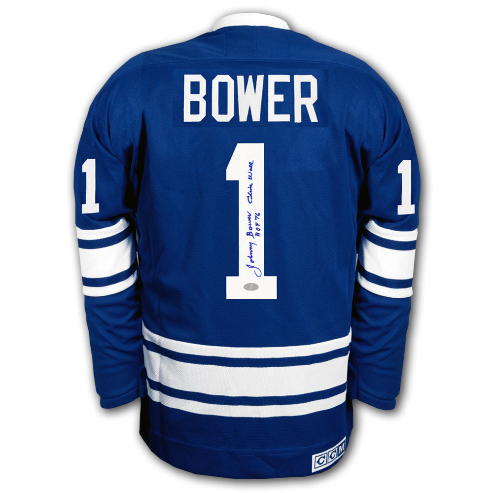 d3942087e Johnny Bower Toronto Maple Leafs HOF