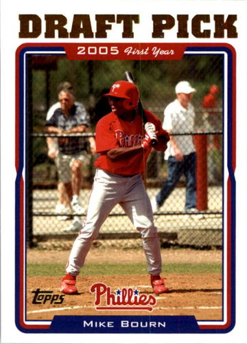 Photo of 2005 Topps #686 Mike Bourn FY RC
