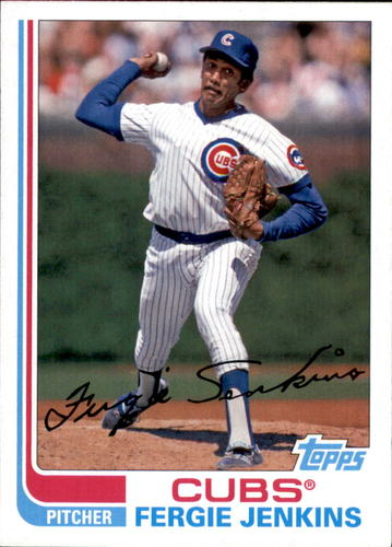 Photo of 2017 Topps Archives #106 Fergie Jenkins