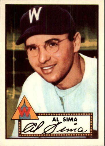 Photo of 1983 Topps 1952 Reprint #93 Al Sima