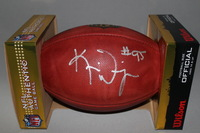 NFL - BROWNS KAMERION WIMBLEY SIGNED AUTHENTIC FOOTBALL