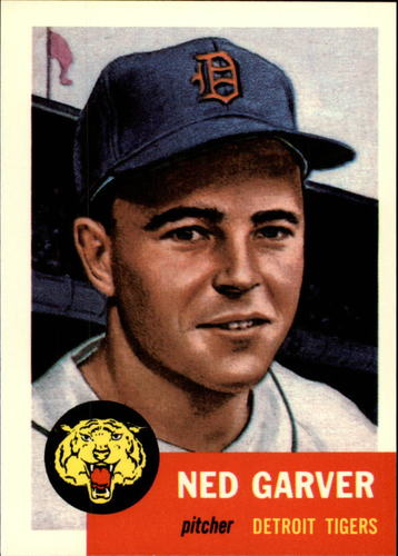 Photo of 1991 Topps Archives 1953 #112 Ned Garver