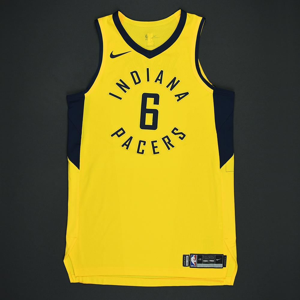 Cory Joseph - Indiana Pacers - Statement Game-Worn Jersey - 2017-18 Season