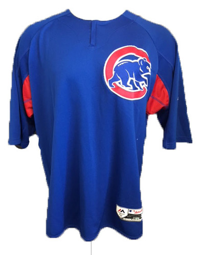 Photo of Steve Cishek Team-Issued Batting Practice Top -- XL -- 2018 Season