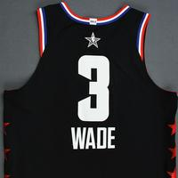Dwyane Wade - 2019 NBA All-Star Game - Team LeBron - Game-Worn Jersey - 1st Half Only
