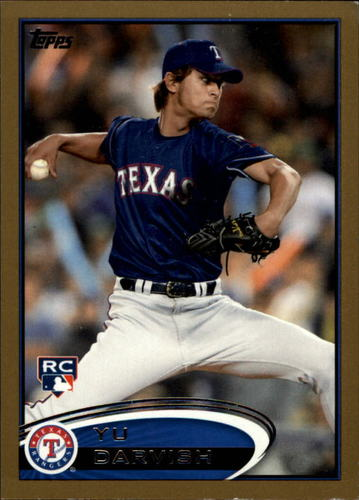 Photo of 2012 Topps Gold #660 Yu Darvish