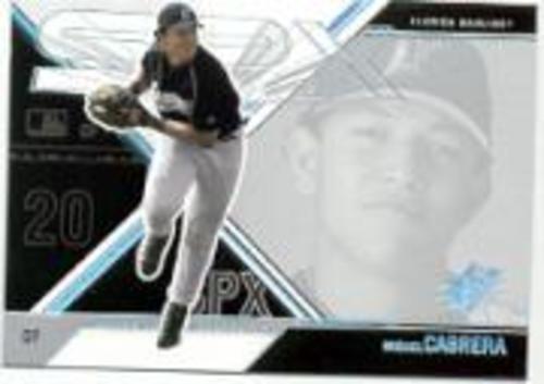 Photo of 2003 SPx #60 Miguel Cabrera SP