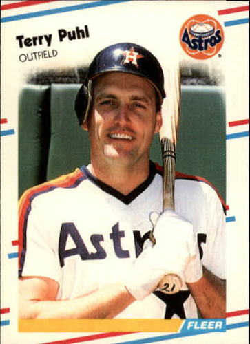 Photo of 1988 Fleer Update #90 Terry Puhl