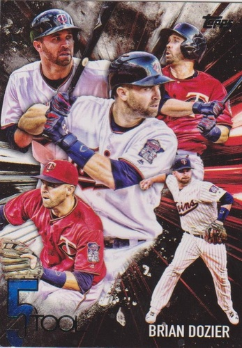 Photo of 2017 Topps Five Tool #5T41 Brian Dozier