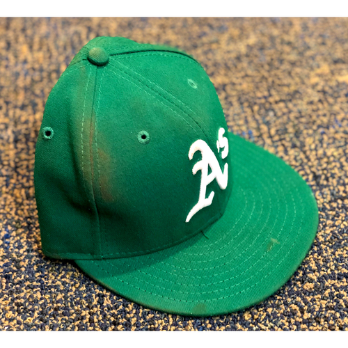 Photo of Team Issued Hat: Ramon Laureano w/ 2019 Postseason Patch