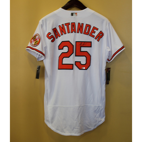 Photo of Anthony Santander - Autographed Jersey