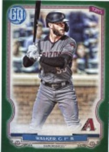 Photo of 2020 Topps Gypsy Queen Green #256 Christian Walker