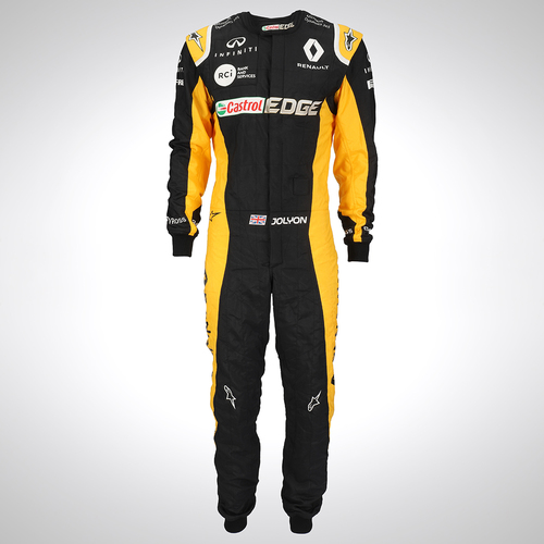 Photo of Jolyon Plamer 2017 Replica Race Suit