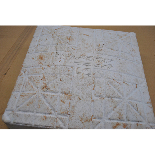 Photo of Game-Used 3rd Base - 2020 ALCS - Houston Astros vs. Tampa Bay Rays - Game 7 - Used Innings 1-5