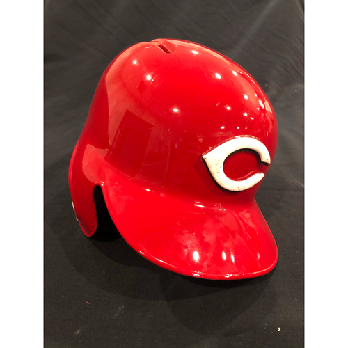 "Photo of Reds Commemorative ""No. 42"" Retired Number Helmet -- (Not MLB Authenticated, COA Included) -- Helmet Scheduled to Arrive Prior to Dec 24"