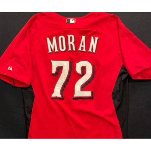 Photo of MORAN-72 -- Authentic Reds Jersey -- $1 Jersey Auction -- $5 Shipping -- Size 44 (Not MLB Authenticated)