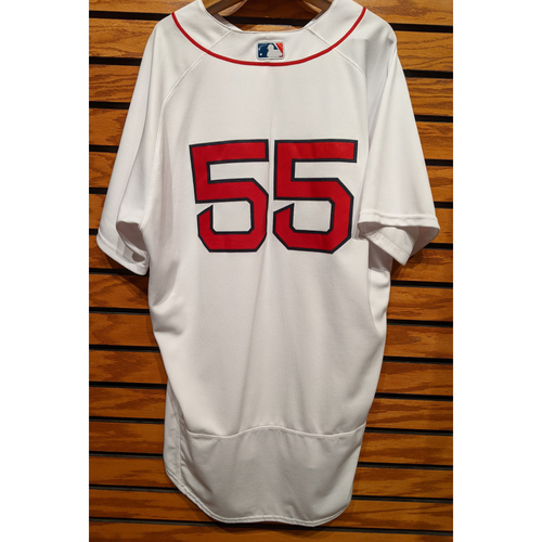 Photo of Coach Chad Epperson #55 Team Issued Home White Jersey