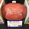 NFL - Broncos Courtland Sutton Signed Authentic Football
