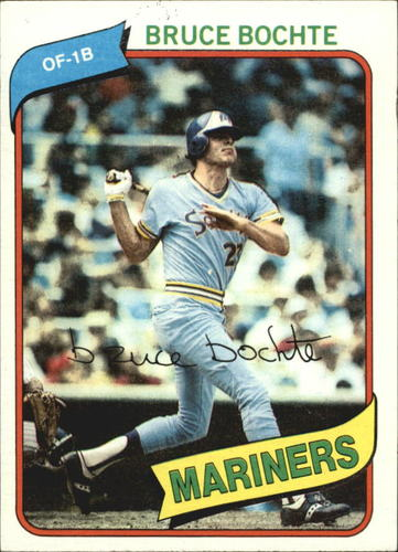 Photo of 1980 Topps #143 Bruce Bochte DP
