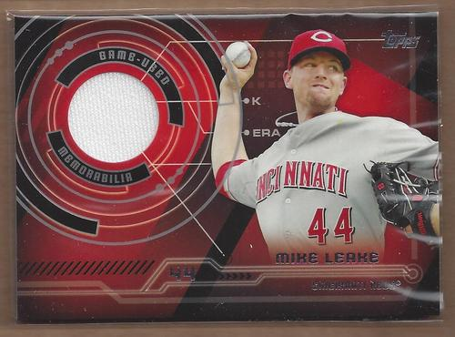 Photo of 2014 Topps Trajectory Relics #TRML Mike Leake S2