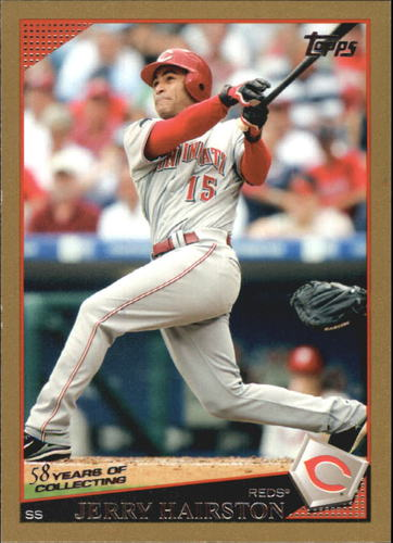 Photo of 2009 Topps Gold Border #29 Jerry Hairston