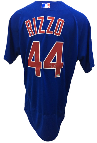 Anthony Rizzo Autographed Jersey: Size - 48